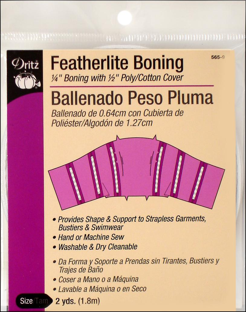 Dritz 565-9 Featherlite Boning ( 2 Yards )