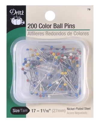 DRITZ D79 Color Ball Pins