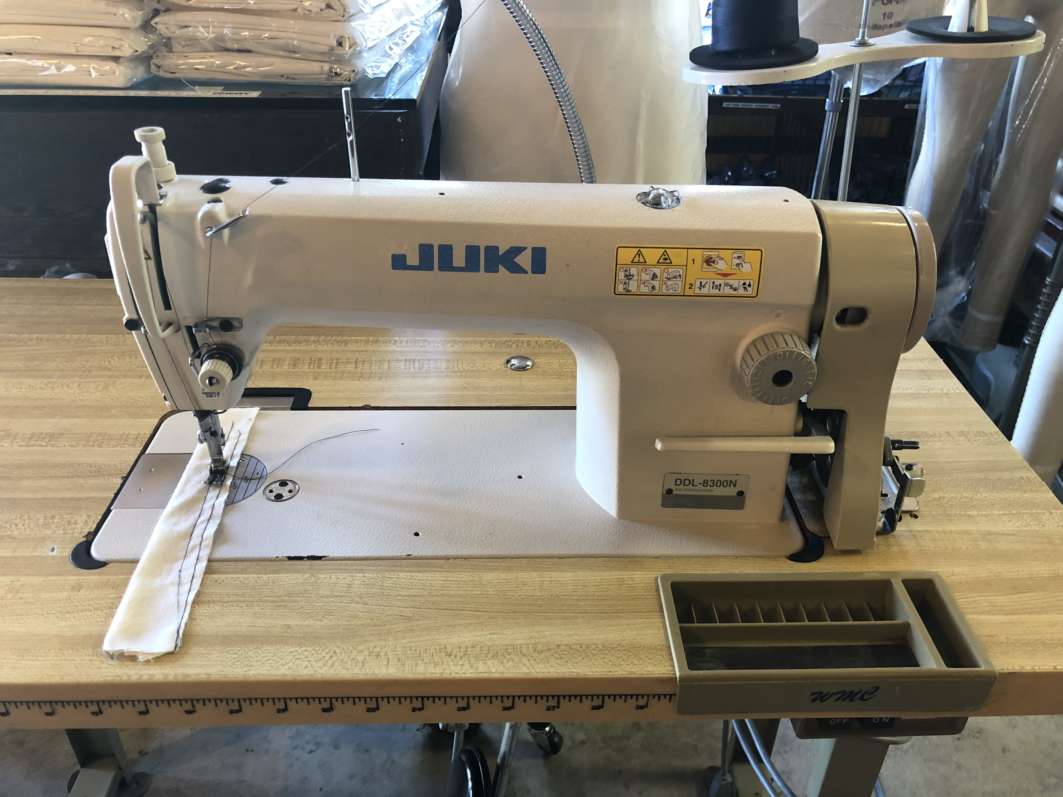 Juki DDL-8300N Single Needle Sewing Machine - Commercial