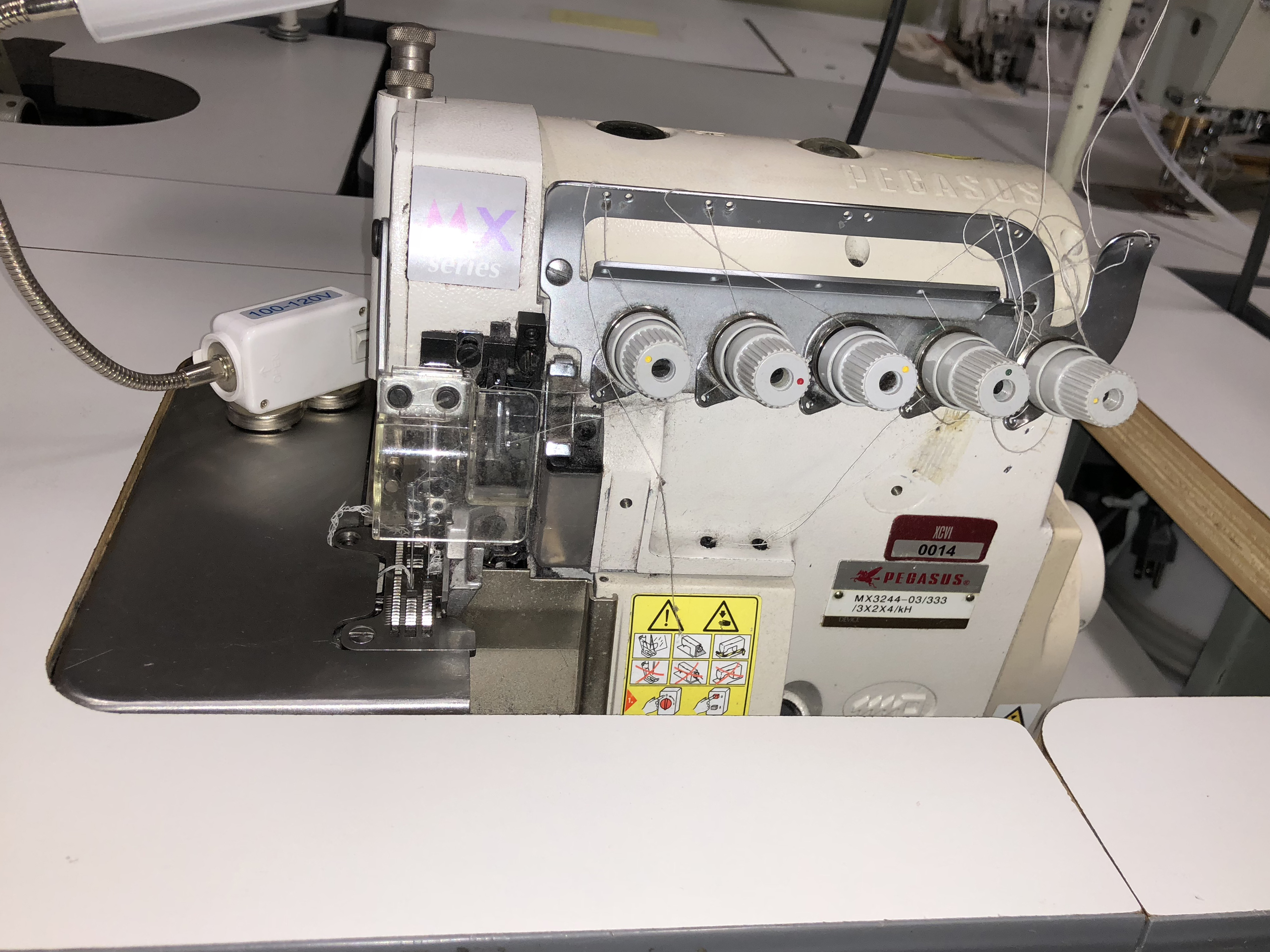 Pegasus MX3244-03/333 Overedger & safety stitch machine ...