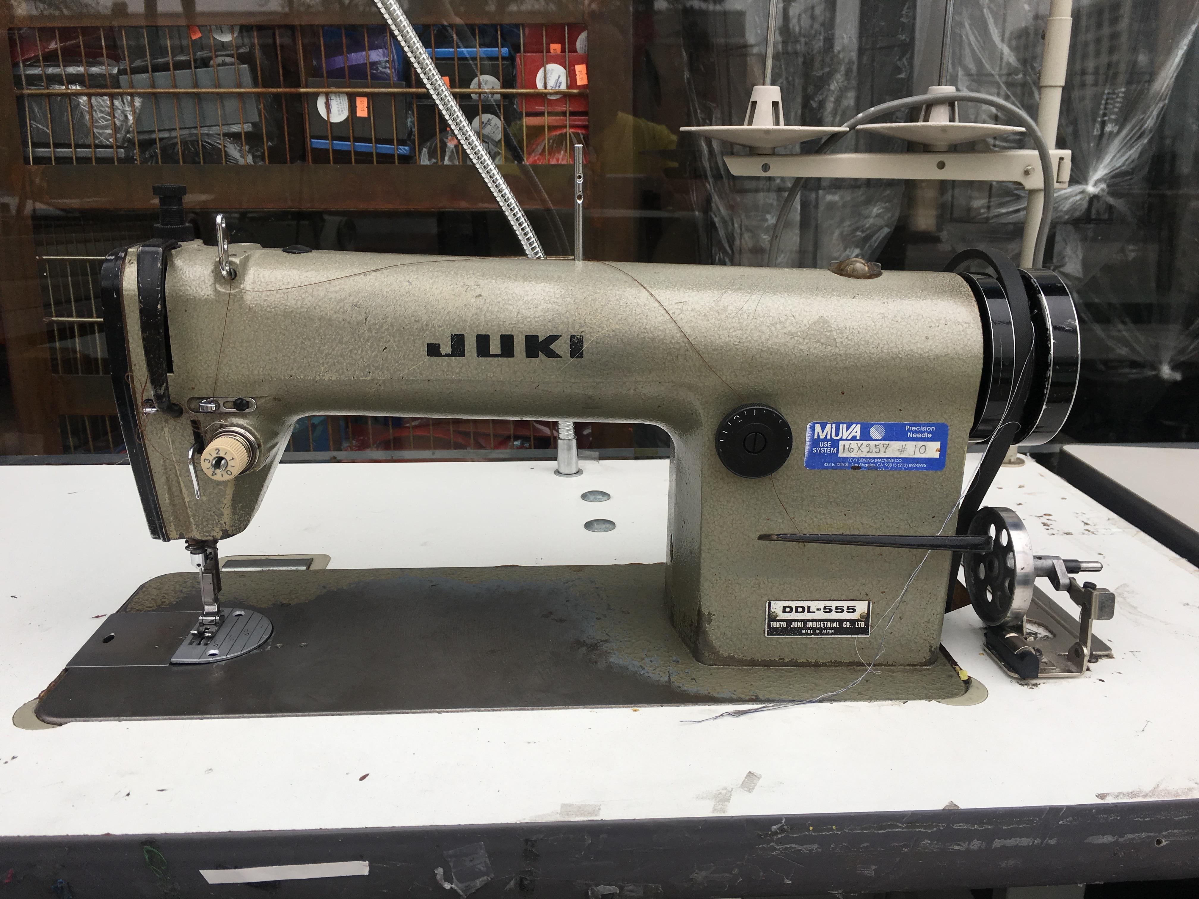 juki 555 sewing machine