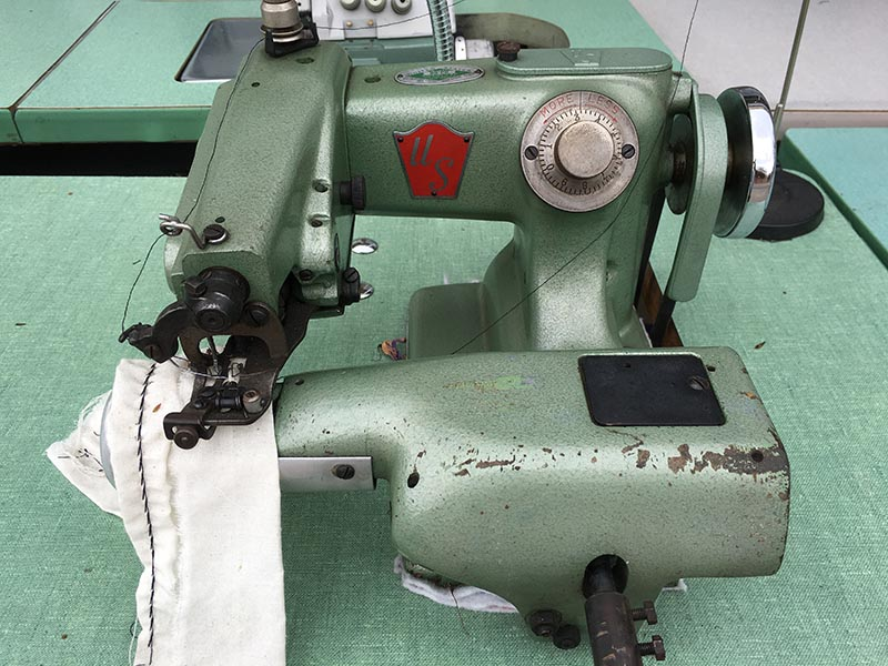 US Blindstitch 40 PB Hemming Machine For Heavy Fabrics Drapes Extraordinary Sewing Machine For Hemming