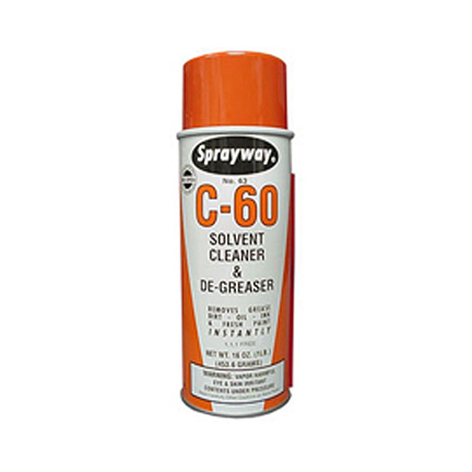 Sprayway #63 Solvent Cleaner and Degreaser