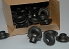 Osborne B1-3 Dull Black Grommet & Washer 7/16