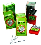 Organ 135x17  (Box of 100) Needles for Walking Foot Sewing Machine