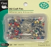 Dritz 133 Nickel Plated Steel Craft Pins- 250 pins