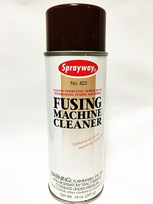 Sprayway 823 Iron Fusing Machine Cleaner Spray - 14 Oz.