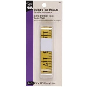 Dritz 840 Tape Measure Quilter's 120