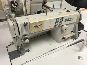 Brother DB2-B737-413 Single Needle Sraigtht Stitcher with thread trimmer