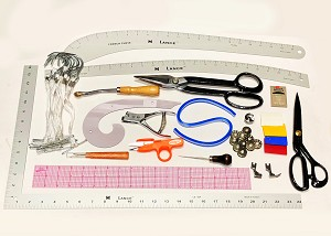 KCAD Pattern Making Kit for fashion design students at Kendall College of Art and Design