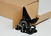 Osborne B1-0 Dull Black Grommet & Washer 1/4
