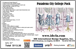 Pasadena City College Pack