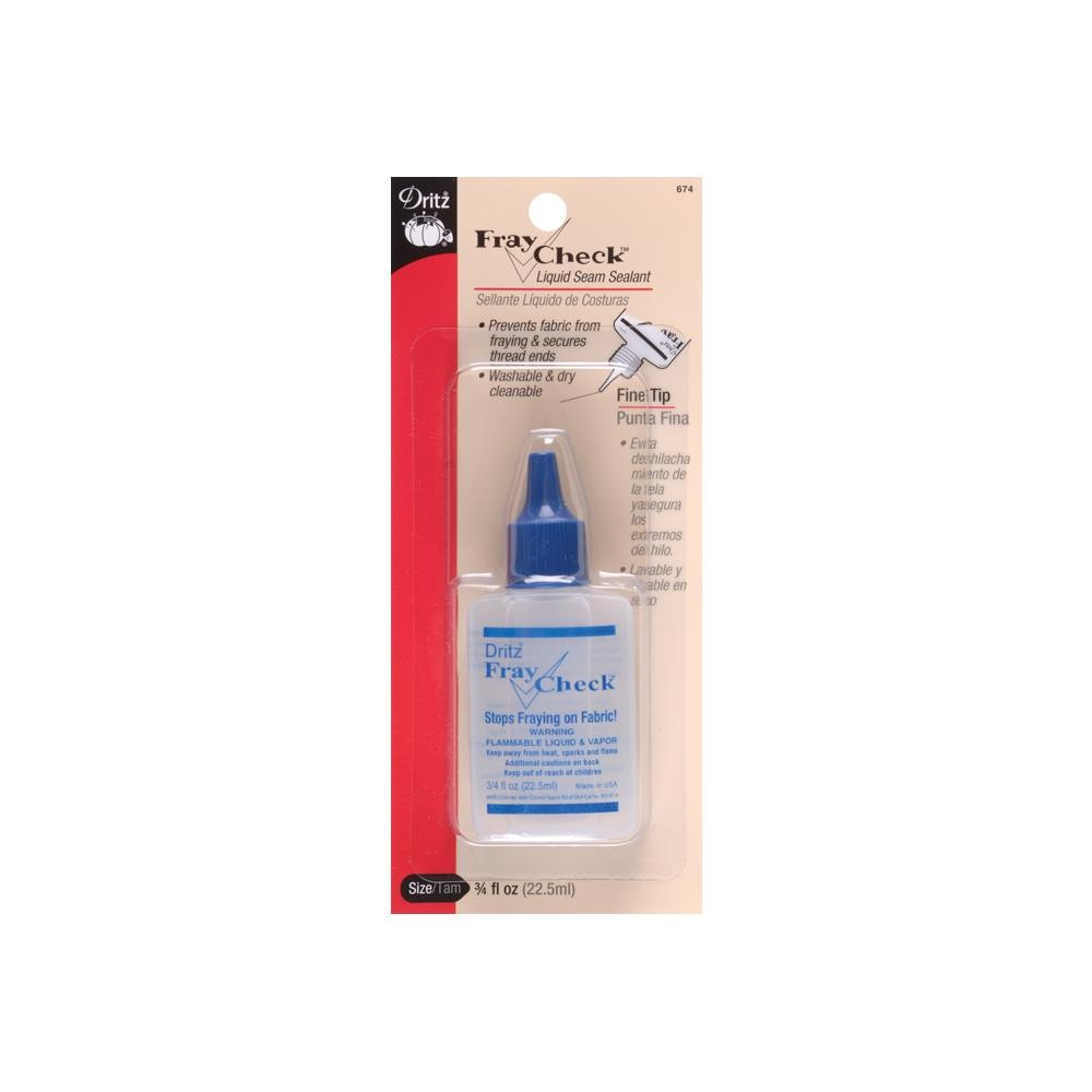 Dritz 674 - Fray Check Liquid Seam Sealant
