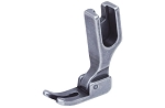 142058N Hinged presser foot (narrow) for industrial sewing machine.
