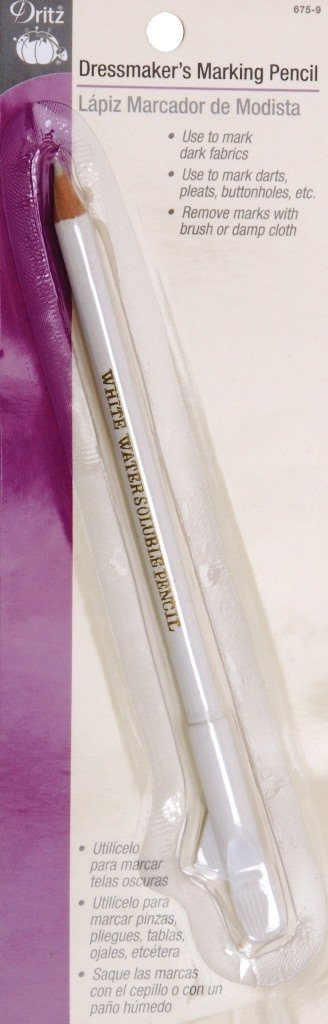 Dritz 675-9 Dressmaker's Marking Pencil, White