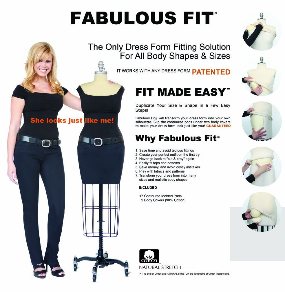 Dress Form Fitting System By Fabulous Fit