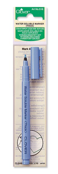 Clover 516 - Water Soluble Marker Thick Point