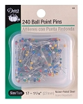 DRITZ D43 Ball Point Pins 1-1/16