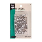 Dritz 460 Safety Pins Assorted 50/Pkg 460