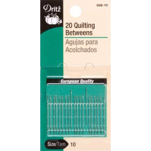 Dritz 56B-10, Hand Needles-Betweens-Quilting-Size 10
