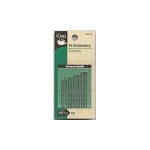Dritz 56B-39 20 quilting needles, sz 3 /9