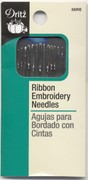 Dritz 56RE Ribbon Embroidery Needles by Dritz Assorted Sizes
