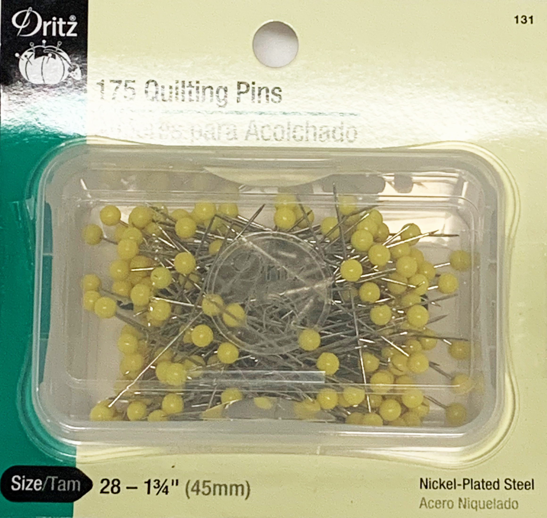Dritz 131, 175 Quilting Pins