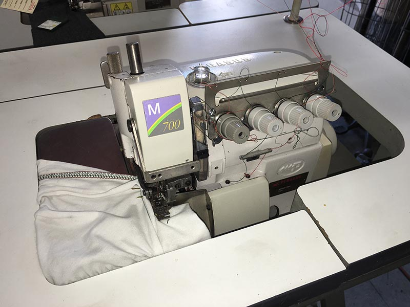 PEGASUS M752-13H High Speed Overedge machine
