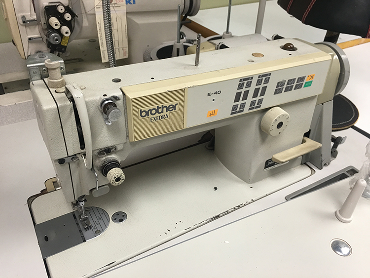 Brother DB2-B737-413 Single Needle Straight Stitcher with thread trimmer
