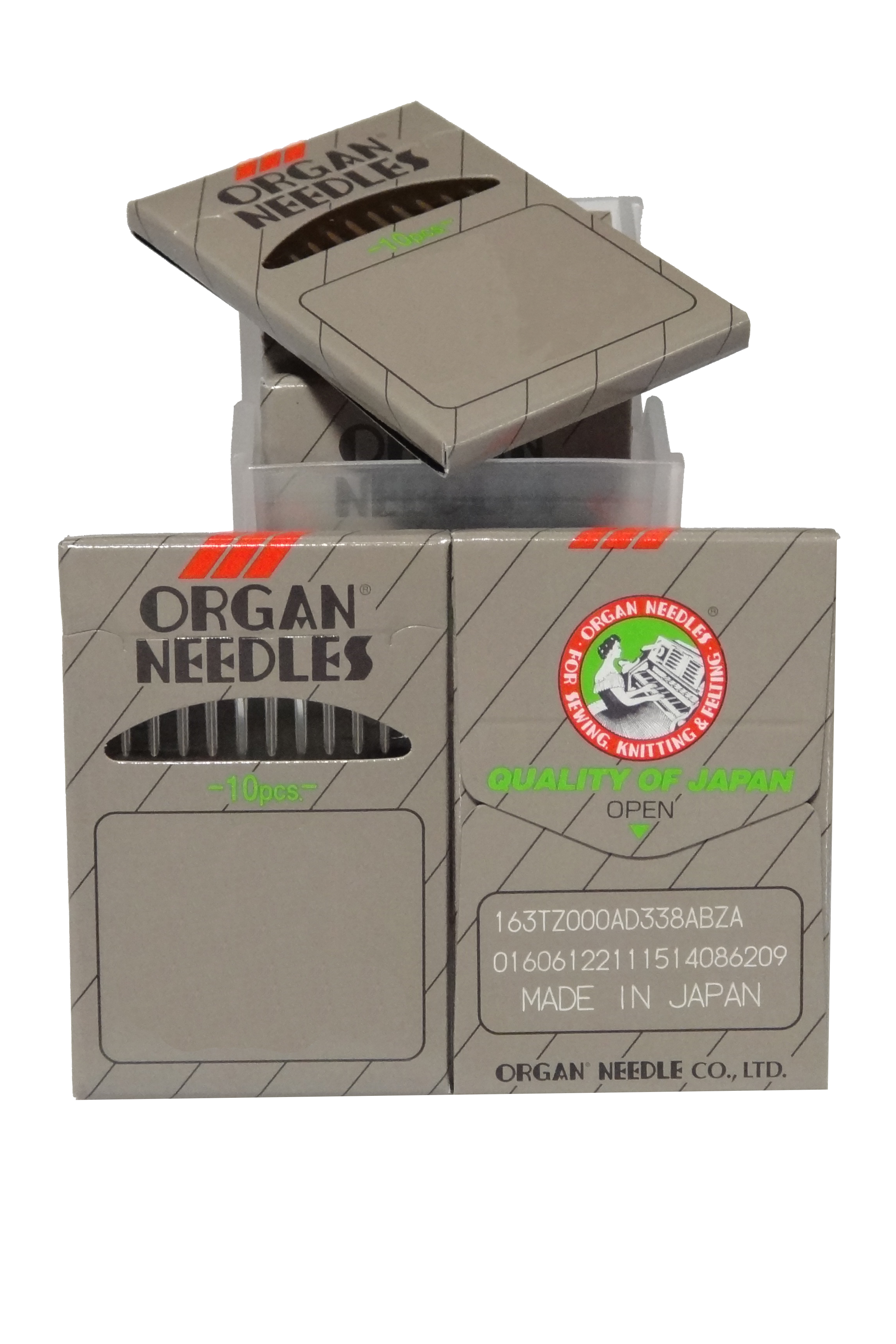 Organ DBx1, Industrial Sewing Machine Needles - BOX OF 100 NEEDLES - 16x95, 16x257, 16x231