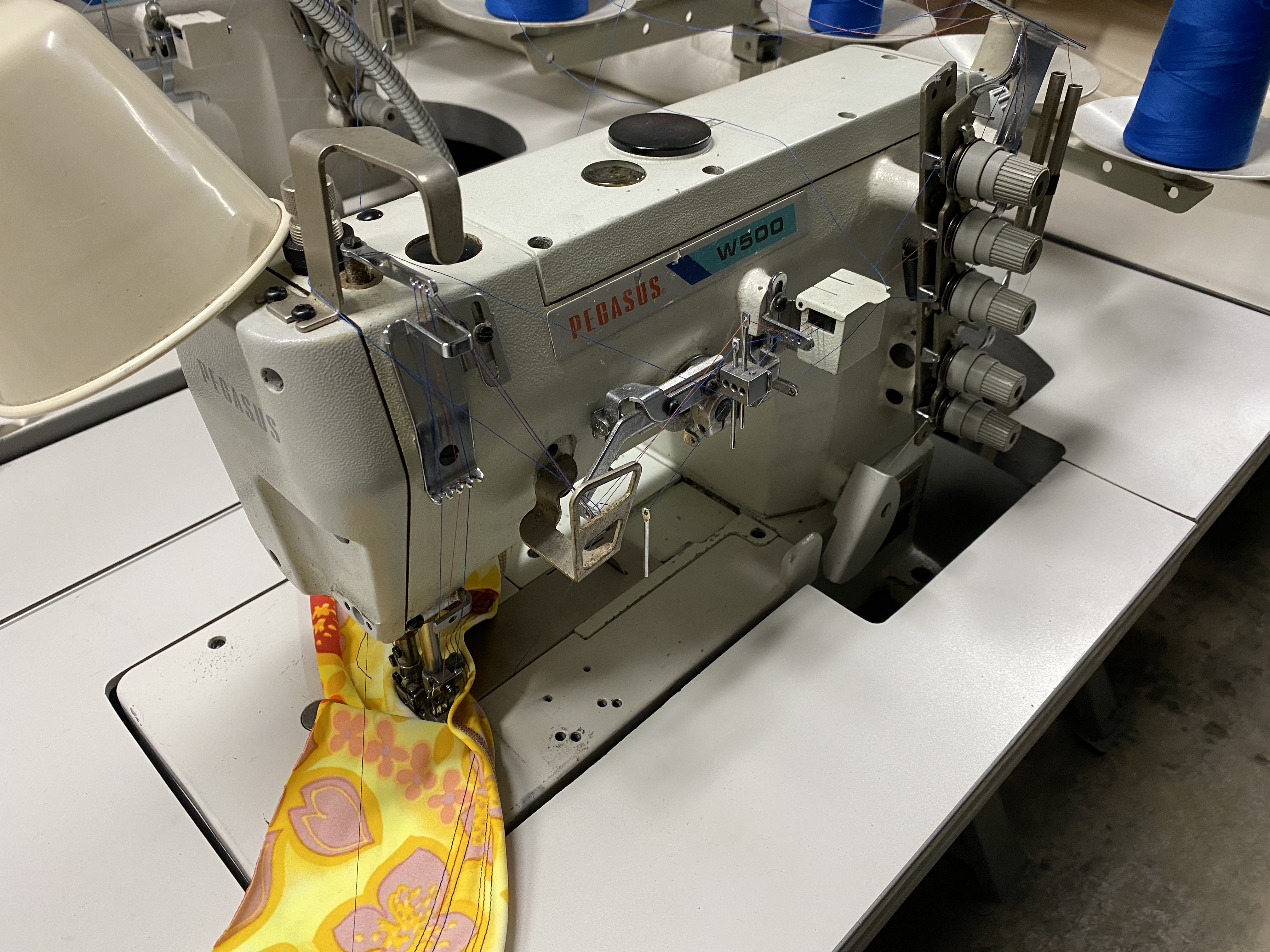 Pegasus W500 Coverstitch Sewing Machine Flatbed