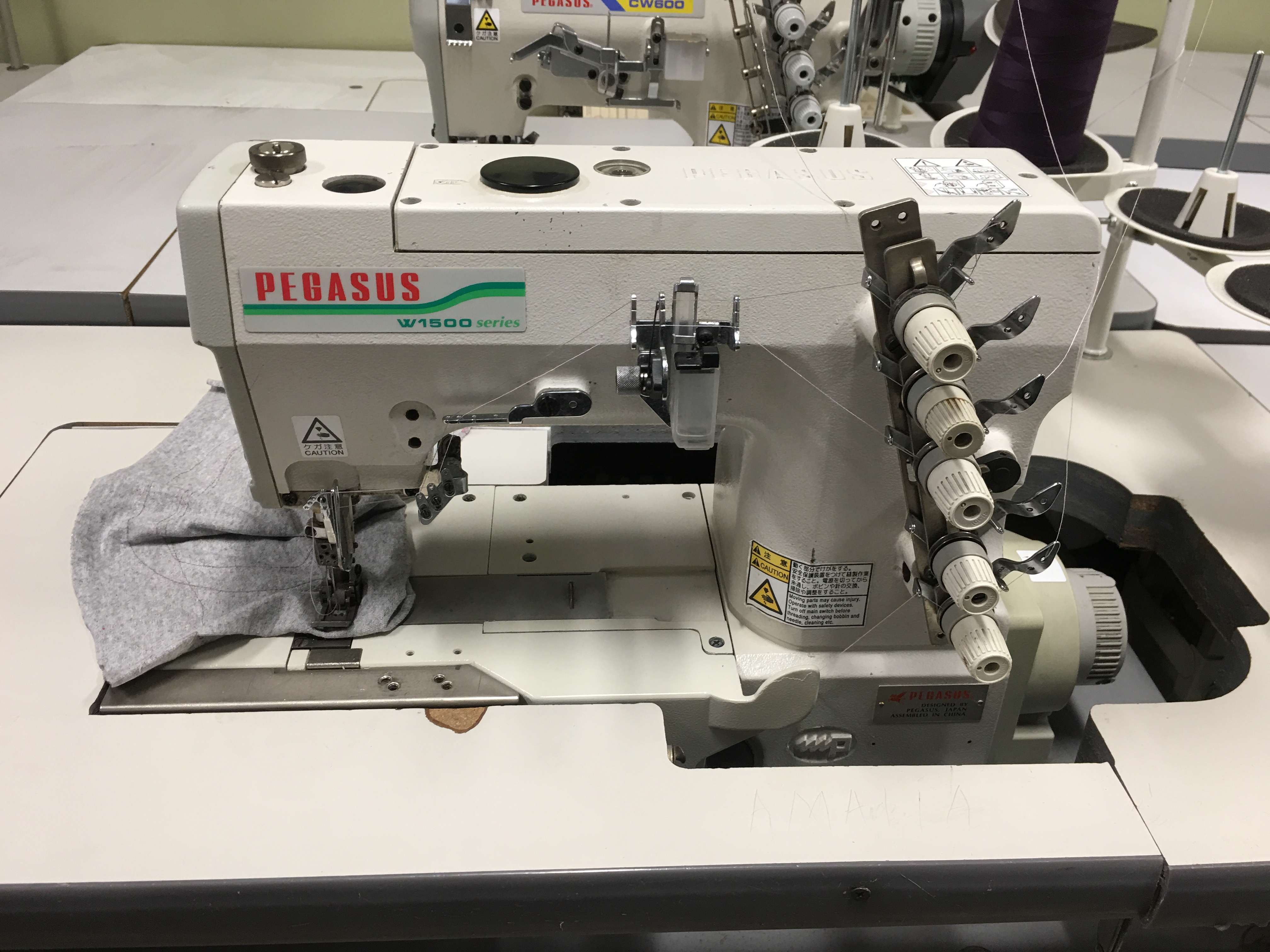 PEGASUS W1500 Series COVERSTITCH SEWING MACHINE - COMMERCIAL