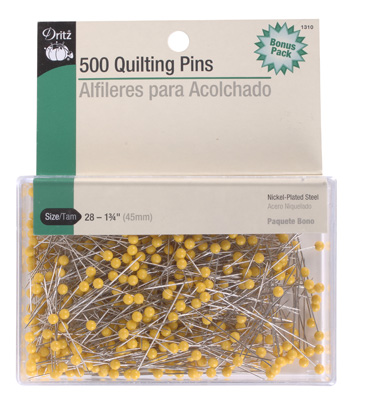 Dritz 1310 500 quilting pins