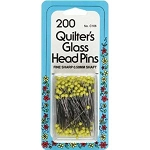 Collins C106 Quilter's Glass Head Pins Size 22 200/Pkg