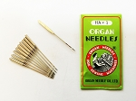 Organ 15 x 1, HA x 1 Domestic Sewing Machine Needles (Pack of 10 Needles )