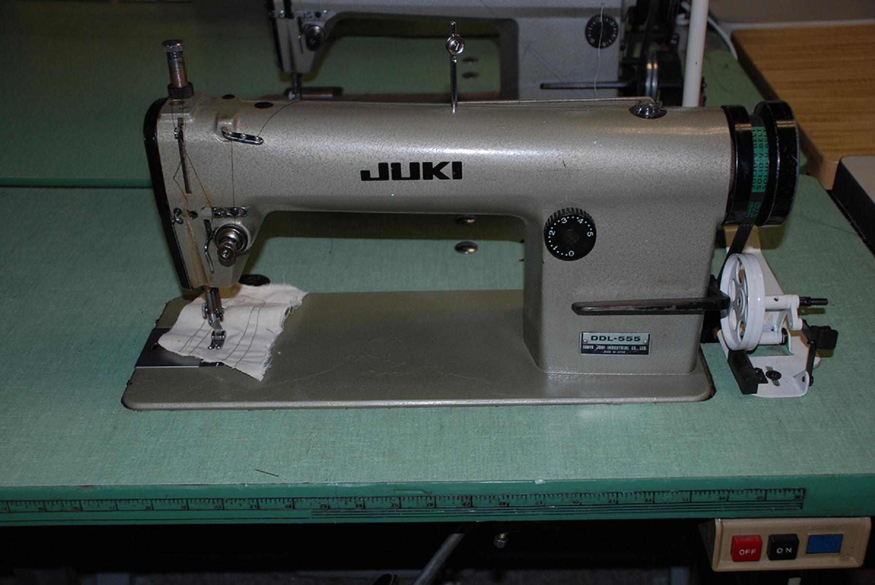 Juki manual ddl 555