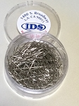 IDS-LA Straight Dressmaker Nickel Plated Pins #17, 2.5 oz