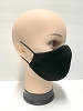 Fabric Face Mask with inside lining, Washable, Adult size, black Color. Men Women Unisex,