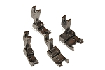 Set of 4 Hinged Raising Presser feet for Industrial Sewing Machines