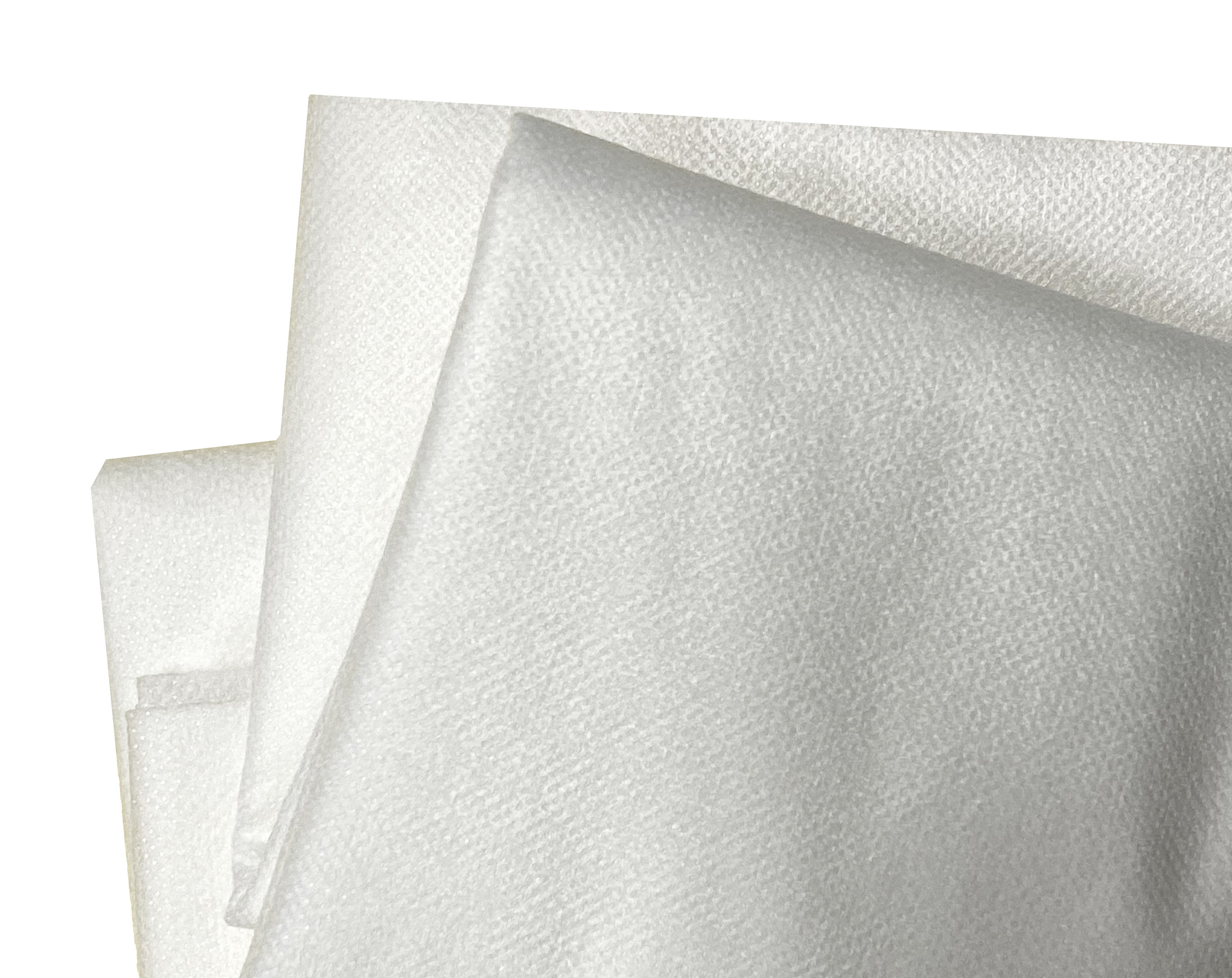 White Fusible midweight Interfacing (1 yard X 48