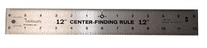 "FAIRGATE 23-112, 12""x 1-3/4"" Center finding Rule"