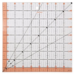 Fiskars 8.5x8.5 Square Acrylic Ruler Preview