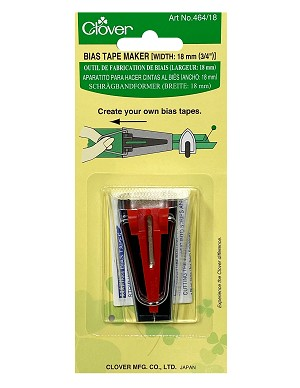 "Clover Bias Tape Makers Item #464 / 18 (18mm 3/4"")"