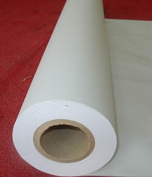 Roll of White Bond Plotter Paper 36' X 200'