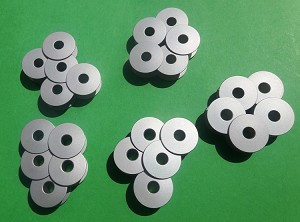 25 aluminum bobbins for single needle sewing machines